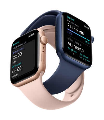 Apple_Watch_Series_6_GPS_44mm_Gold_Aluminum_Pink_Sand_Sport_Band_Apple_Watch_Series_6_GPS_44mm_Blue_Aluminum_Deep_Navy_Sport_Band_2-Up_Sleep_Screen__ITIT