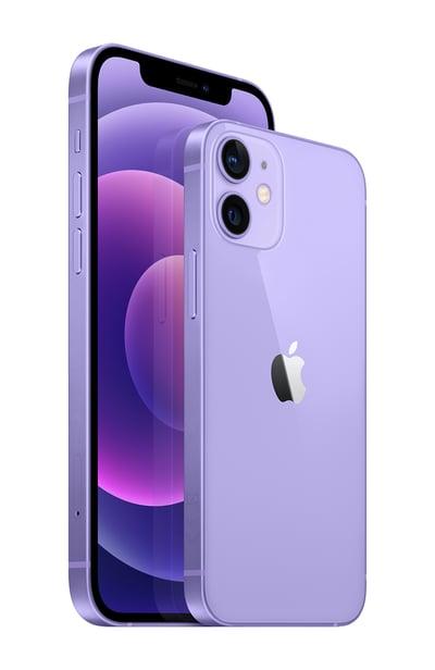 iPhone_12_Purple_34FL_iPhone_12_mini_Purple_34BR_2-up_Screen__GBEN