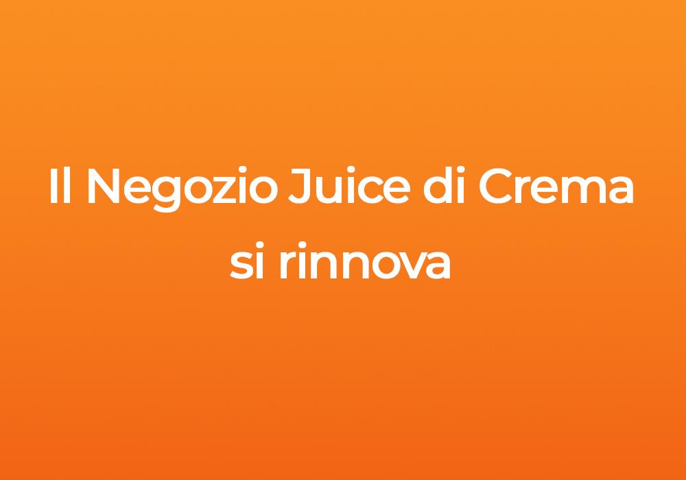 Il negozio Juice di Crema ha un aspetto tutto nuovo: vieni a scoprire i prodotti Apple a Crema!