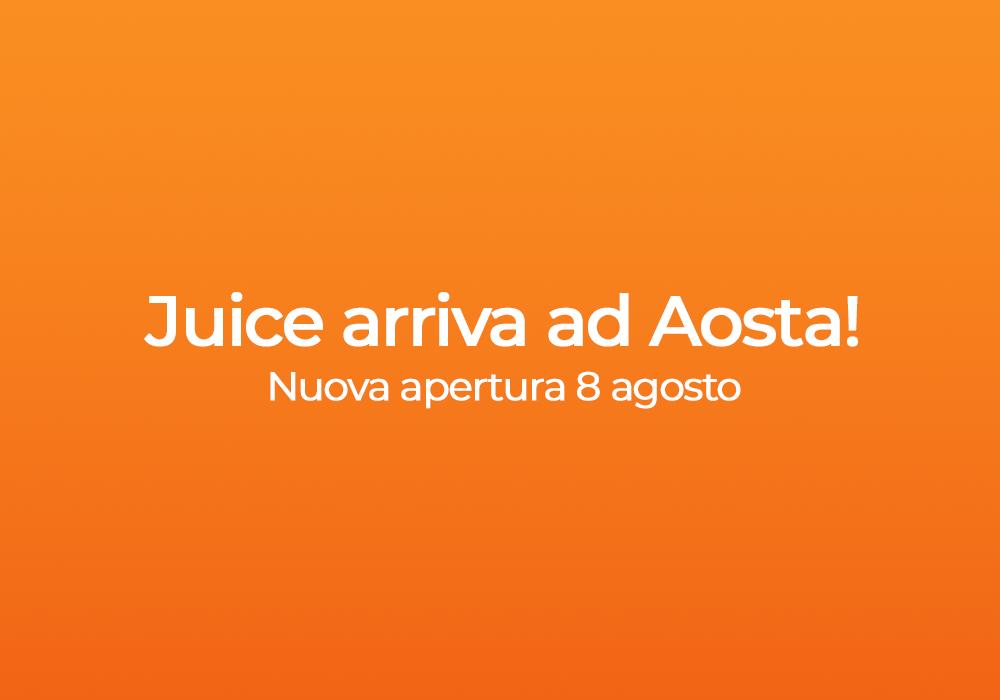 Juice apre ad Aosta un nuovo negozio: Rivenditore Autorizzato e Centro Assistenza Autorizzato Apple