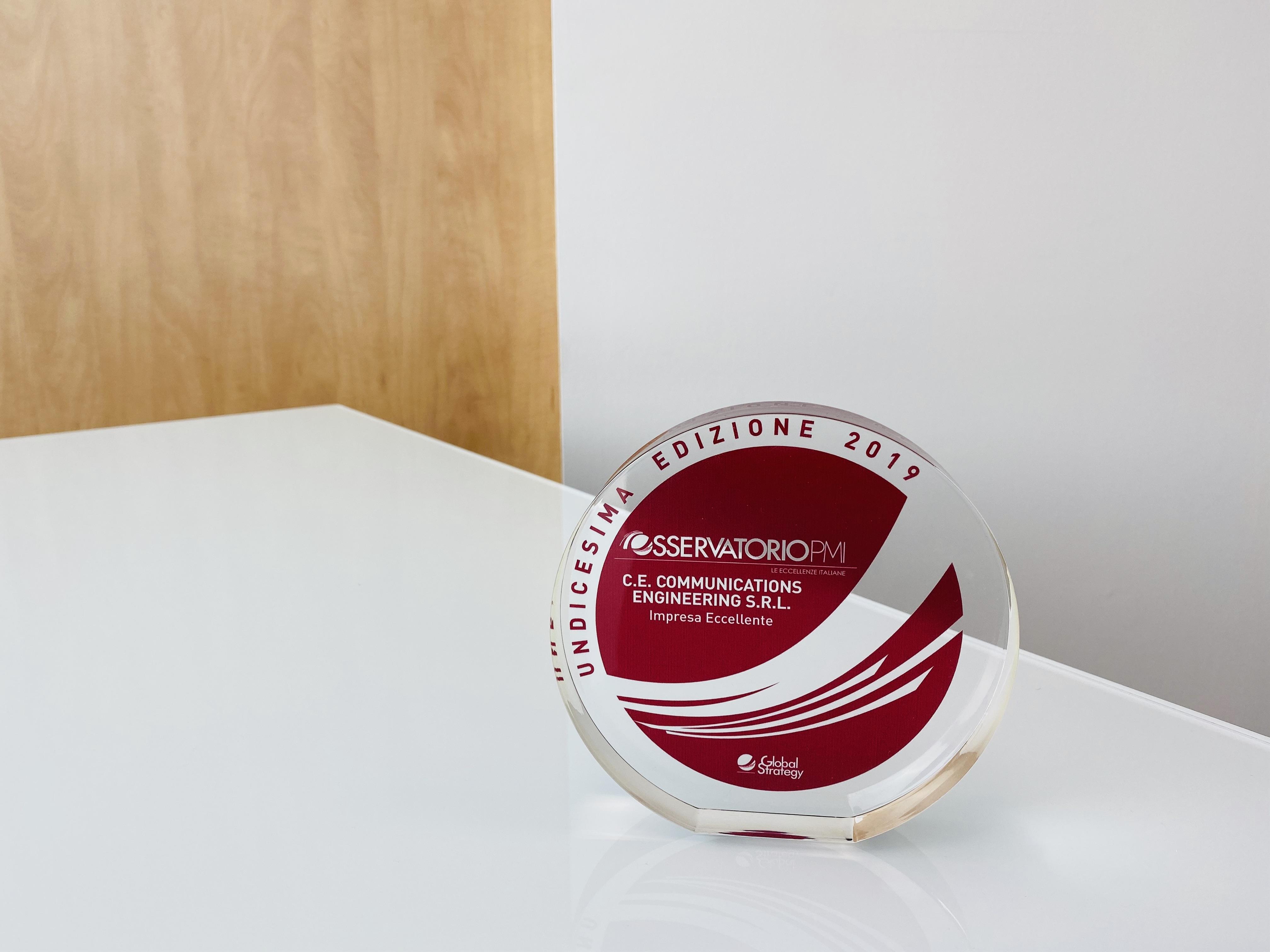 Osservatorio PMI 2019: Juice azienda da 10 e lode!Riceve il Premio Aziende Eccellenti per la seconda volta!