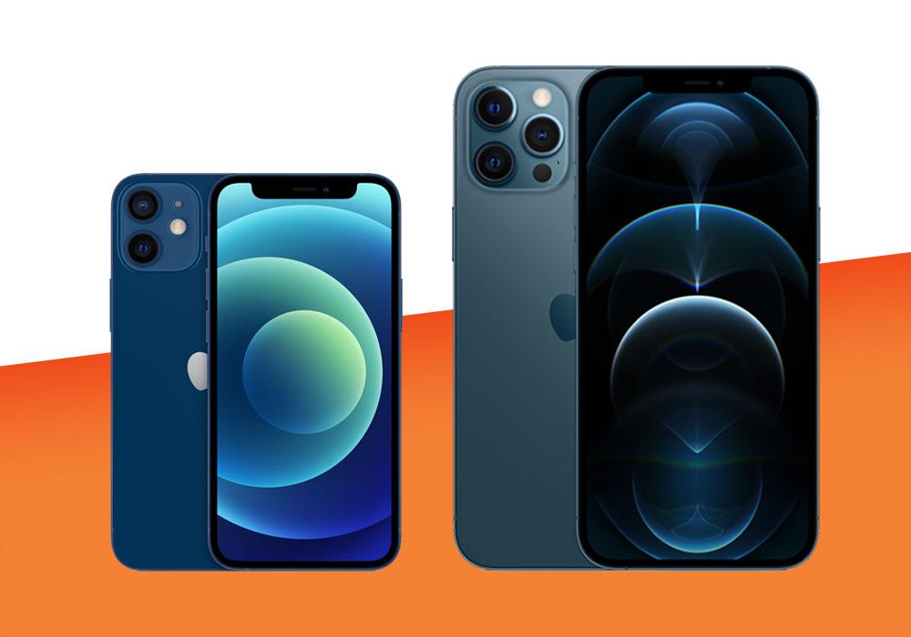 Nuovi iPhone: scopri iPhone 12 mini e iPhone 12 Pro Max a confronto!