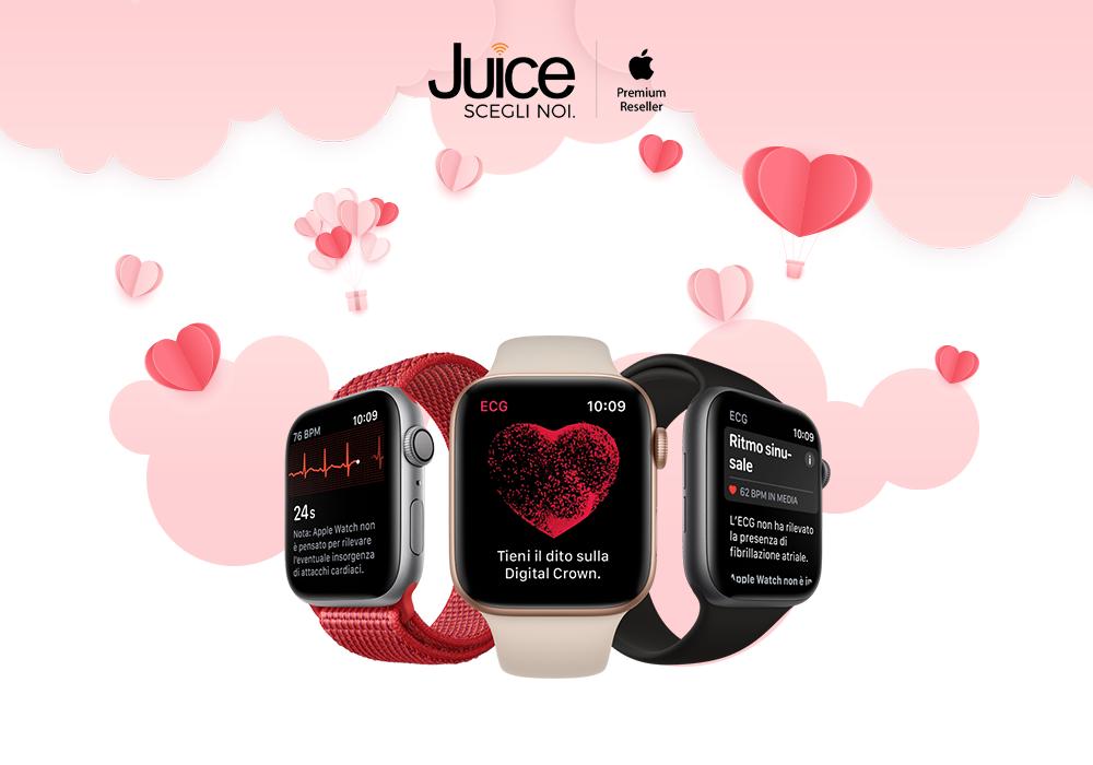 San Valentino 2021: sorprendi chi ami con Apple