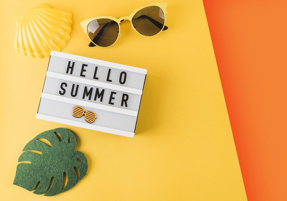 Cosa portare in vacanza? Scopri gli accessori perfetti per la tua estate con Juice!