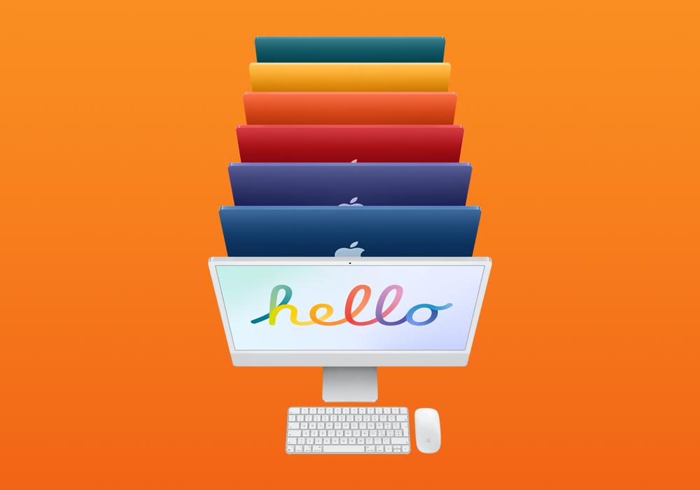 """iMac 24"""" è il perfetto supporto per ogni cosa. Ecco tutto quello che c'è da sapere."""